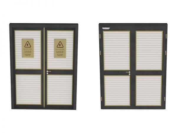 درب اتاق برق / اتاق هوا ساز